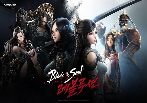 Blade and Soul Revolution IOS Jeux