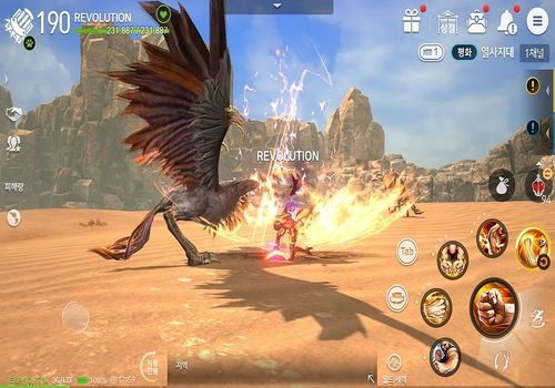 Blade and Soul Revolution Android Jeux