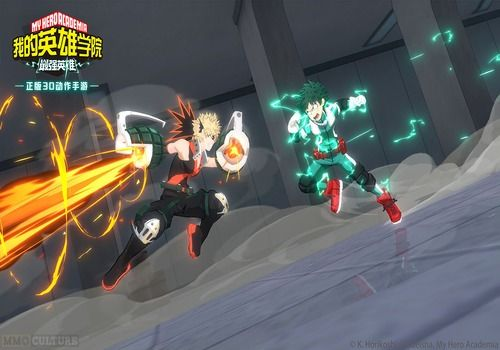 My Hero Academia : The strongest hero Android Jeux