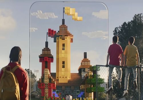 Minecraft Earth (Android-iOs) Jeux