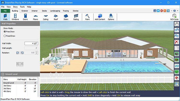 DreamPlan - Décoration intérieure et paysagisme Maison et Loisirs