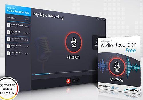 Ashampoo Audio Recorder Free Multimédia