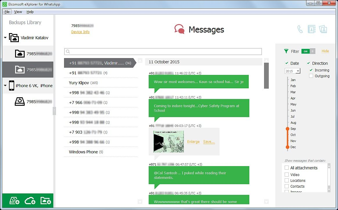 Elcomsoft eXplorer for WhatsApp 2.70.31755 Utilitaires