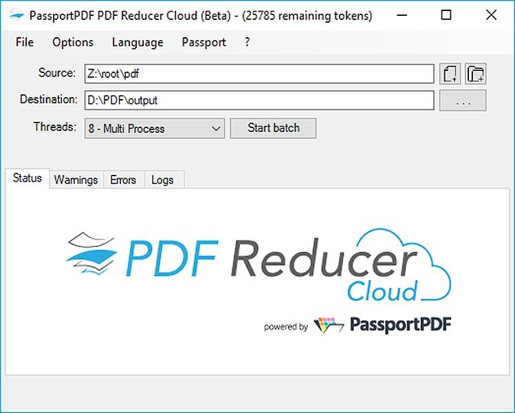 PDF Reducer Cloud 1.0.16 Utilitaires