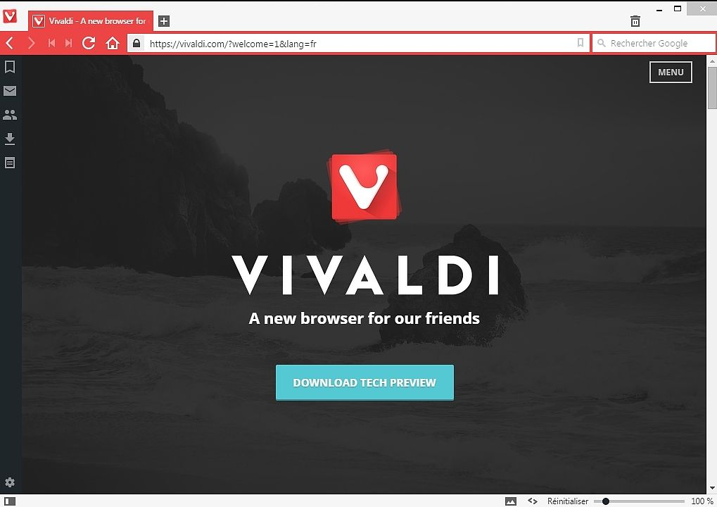 Vivaldi Internet