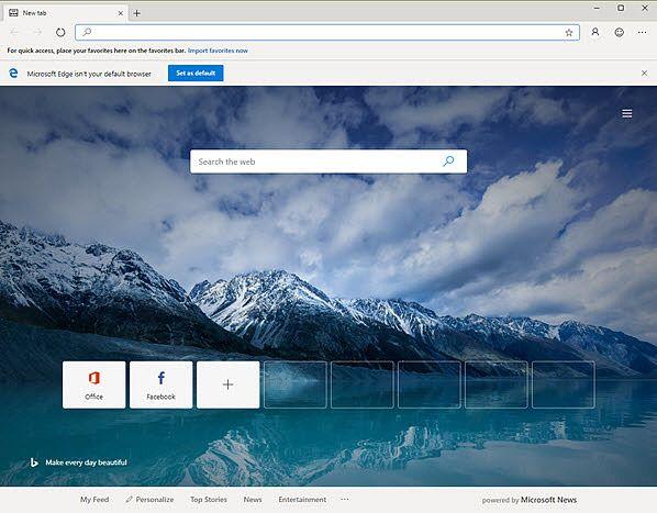 Microsoft Edge  Internet