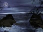 Clair de nuit Fonds d'écran