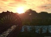 Moulin de rivière Fonds d'écran