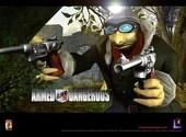 Armed and dangerous Fonds d'écran