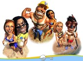 Beach life Fonds d'écran