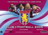 Club Football 2005 Aston Villa FC Fonds d'écran