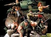 Commandos 2 Men of Courage Fonds d'écran