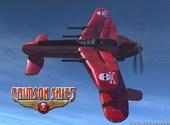 Crimson skies Fonds d'écran