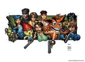 Games comics Fonds d'écran