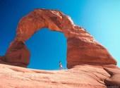 Randonnée sur montagne rocheuse Fonds d'écran