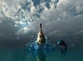 L'amphore et le dauphin Dessins & Arts divers