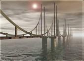Décharné était le pont... Dessins & Arts divers