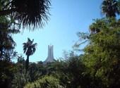 Monument et jardin anglais Fonds d'écran