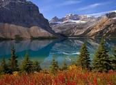 Lac de montagne Fonds d'écran