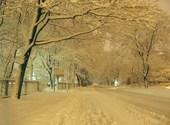 Neige au canada Fonds d'écran