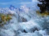 Les alpes Dessins & Arts divers