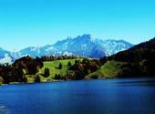 Lac de montsalvens en automne  Photos