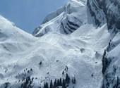 Traces de skieurs Photos
