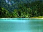 Turquoise dans les alpes Photos