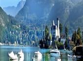 Chateau sur lac d' annecy Photos