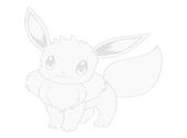 coloriage pokemon-Evoli Dessins & Arts divers