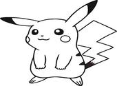 Coloriage Pokemon-Pikachu Dessins & Arts divers