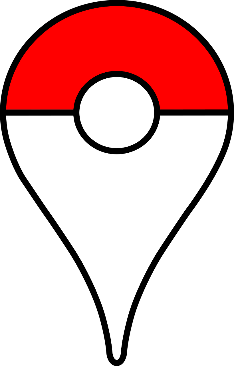 Sticker Pokeball goupille