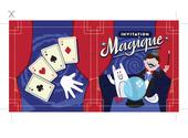 Carton d'invitation gratuit - La Magie Dessins & Arts divers