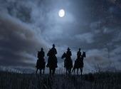 Red Dead Redemption 2 Chevauchée Nocturne Fonds d'écran