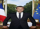 Photo officielle d'Emmanuel Macron, président de la République Photos