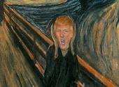 Le Cri version Trump Dessins & Arts divers