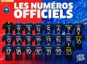 Coupe du Monde - Numéros officiels des joueurs de l'équipe de France Fonds d'écran