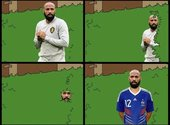Thierry Henry mème #Frabel