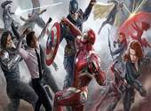 La célébration du président Macron détournée en mème dans l'affiche des Avengers Fonds d'écran