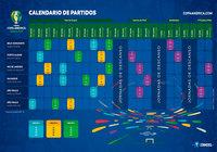 Calendario Copa America Brasil 2019