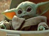 Baby Yoda Face