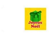 Carte Noël - Cadeau