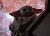 Baby Yoda Meme Hearts